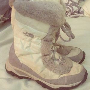 North Face Goose-down Winter Boots